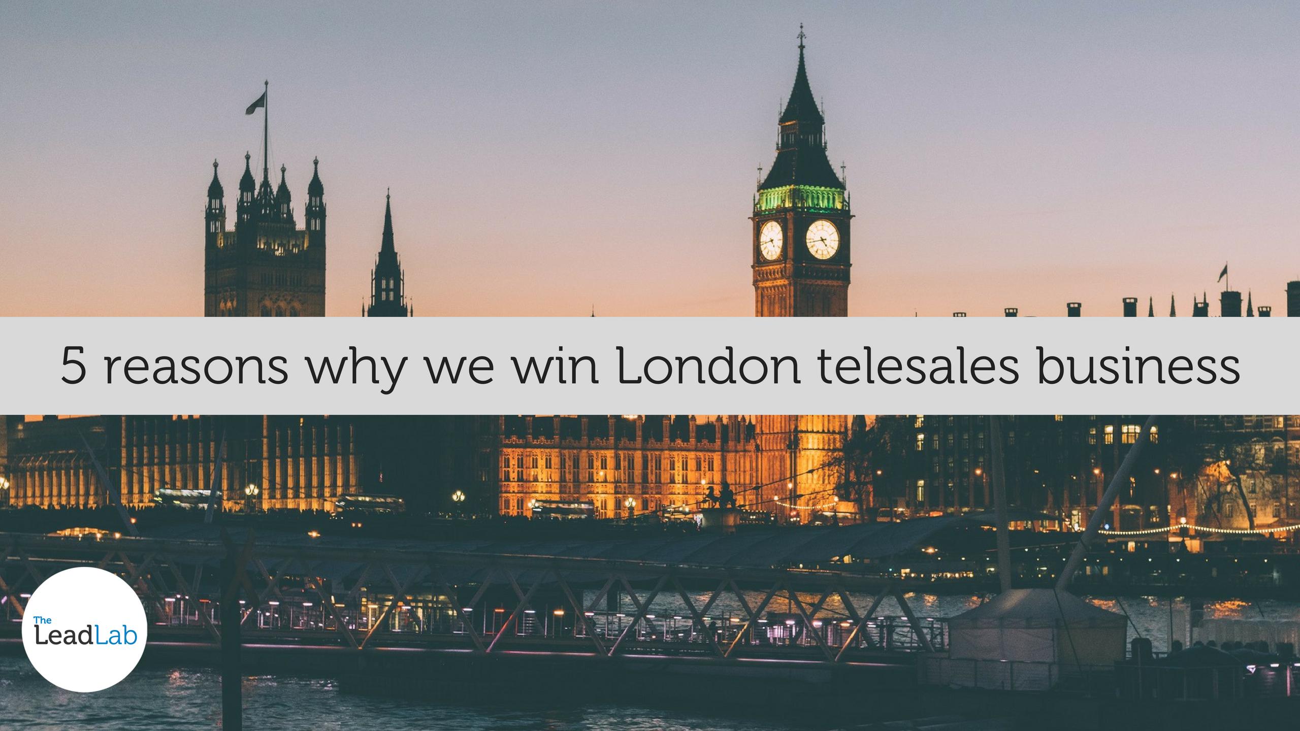 Telesales London