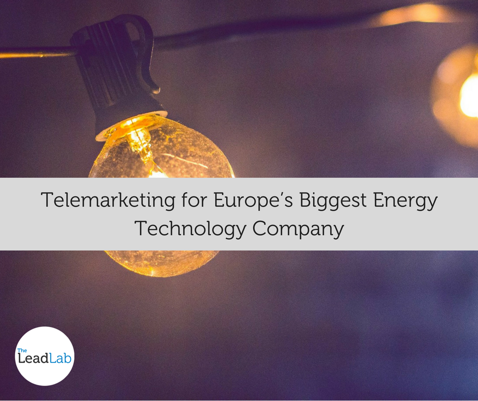 Telemarketing Energy